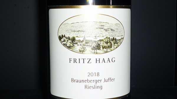 Fritz Haag Riesling Brauneberger Juffer 2018 -Restmenge-