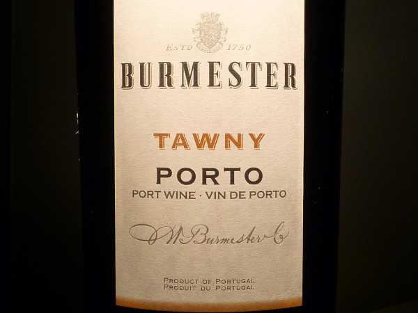 Burmester Tawny Porto