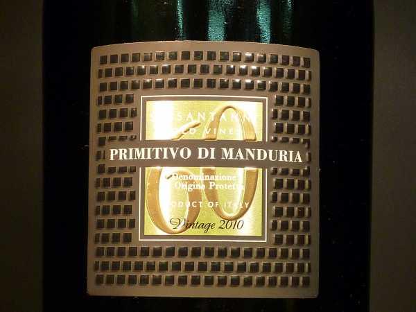 Feudi di San Marzano Primitivo di Manduria Sessantanni 2015