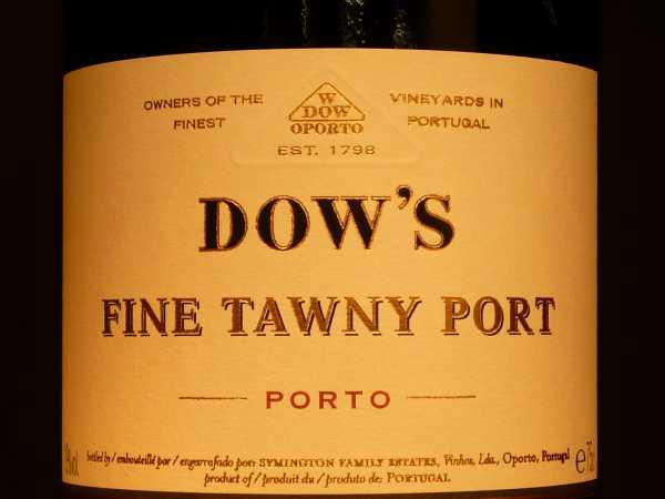 Dow´s Fine Tawny Port