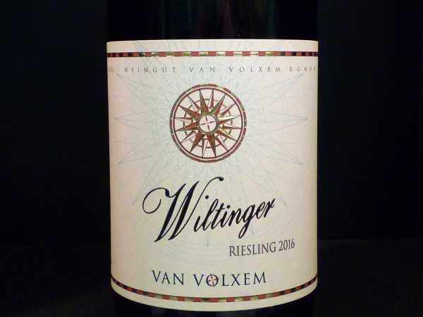 Van Volxem Wiltinger Riesling 2018