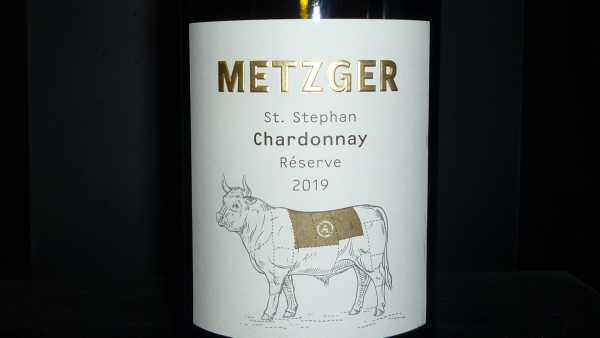 Metzger Chardonnay Reserve St. Stephan 2019