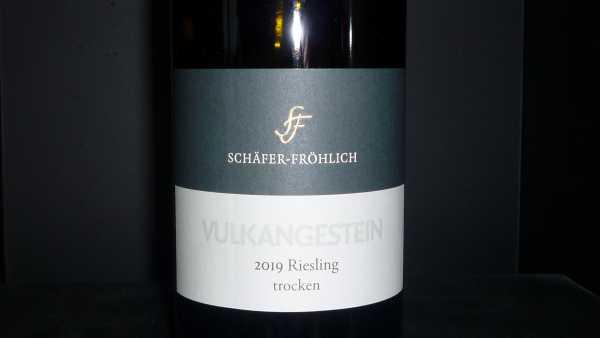 Schäfer-Fröhlich Riesling Vulkangestein Trocken 2019