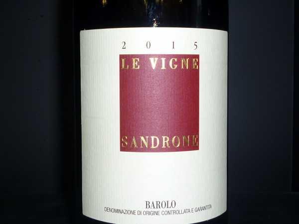 Sandrone Luciano Barolo Le Vigne 2015 -Restmenge-