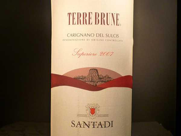 Terre Brune Santadi Magnum 1,5 l 2015