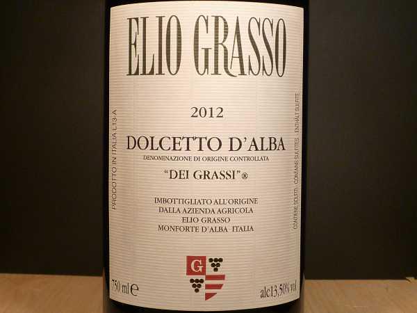 Elio Grasso Dolcetto d´Alba Dei Grassi 2014
