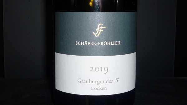 Schäfer-Fröhlich Grauer Burgunder S 2019