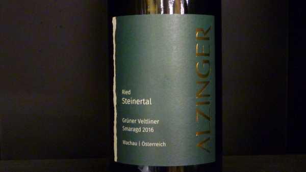 Alzinger Grüner Veltliner Smaragd Steinertal 2016 -Restmenge-