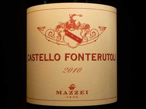 Mazzei Castello Fonterutoli Chianti Gran Selezione 2013