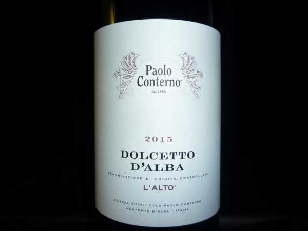 Dolcetto d´Alba Paolo Conterno 2015 -Restmenge-
