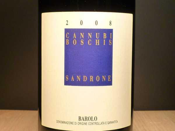 Sandrone Luciano Barolo Cannubi Boschis 2012
