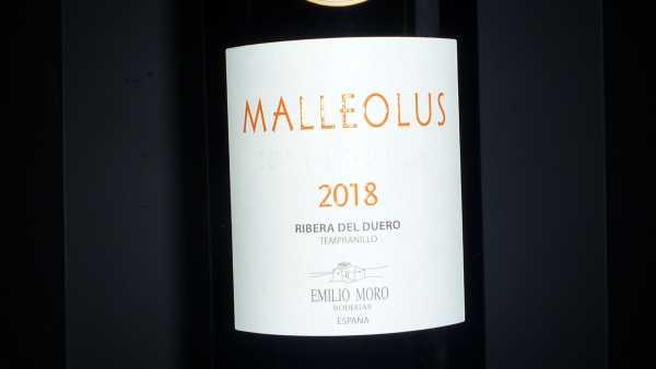 Emilio Moro Malleolus 2018