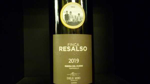 Emilio Moro Finca Resalso 2019