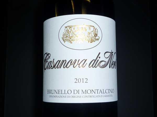 Brunello di Montalcino Casanova di Neri 2012