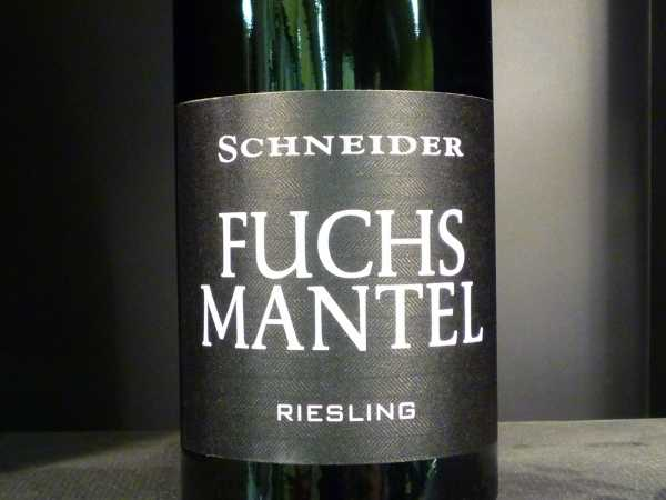 Schneider Markus Fuchsmantel Riesling 2015