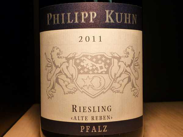 Philipp Kuhn Riesling Kapellenberg Alte Reben Erste Lage trocken 2015