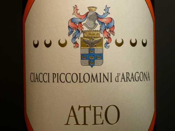 Ateo Rosso Ciacci Piccolomini 2014