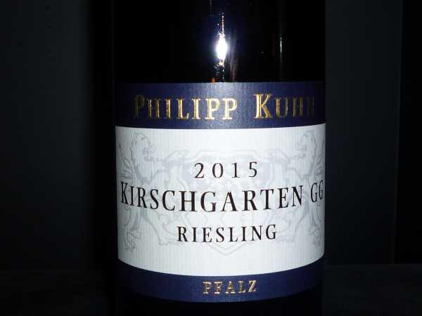 Philipp Kuhn Riesling Kirschgarten GG 2015