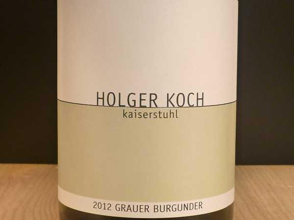 Holger Koch Grauburgunder Kaiserstuhl 2018