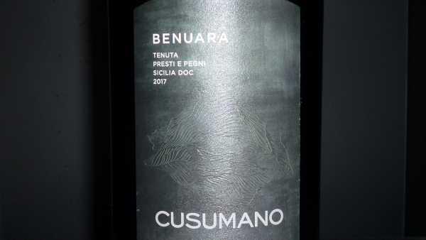 Cusumano Benuara Sicilia 2017 -Restmenge-