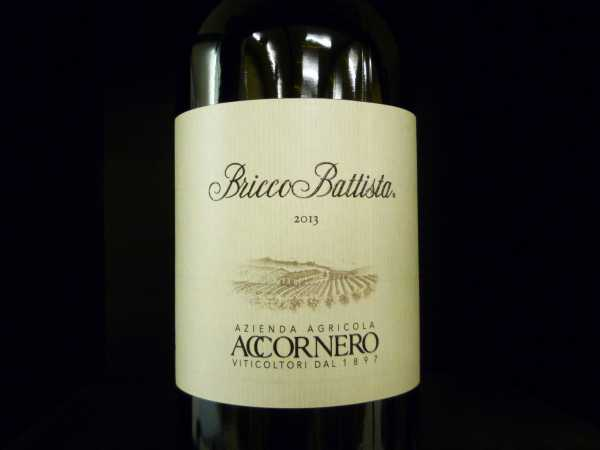Accornero Bricco Battista Barbera del Monferrato Superiore DOC 2015