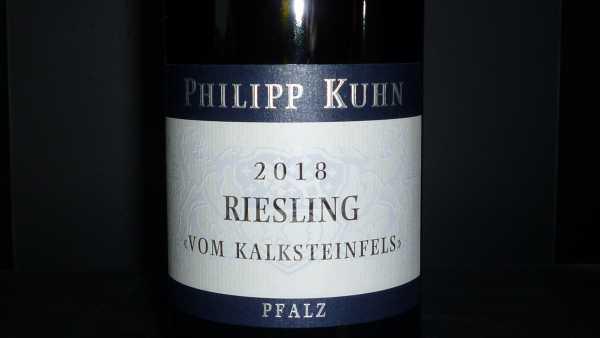 Philipp Kuhn Riesling Kalksteinfels 2018