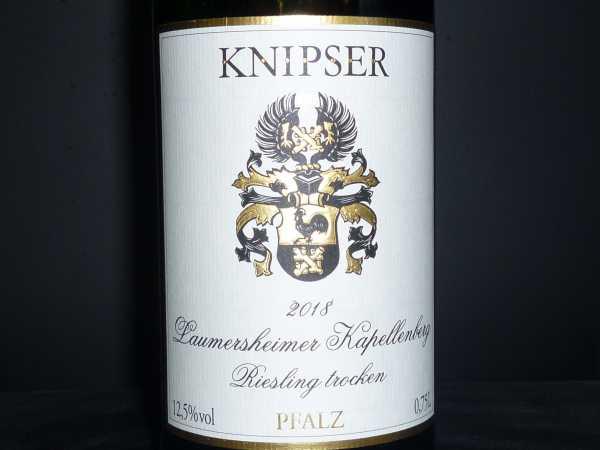 Knipser Laumersheimer Kapellenberg Riesling trocken 2018