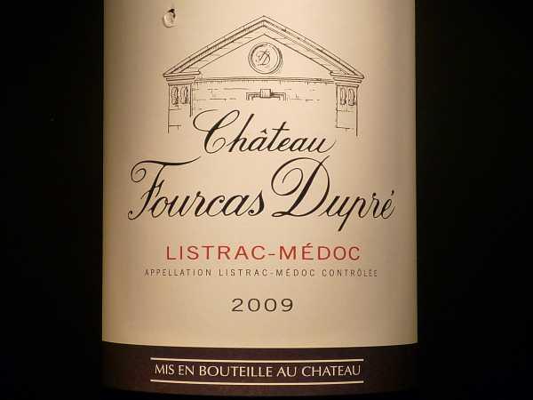 Chat. Fourcas Dupre Listrac-Médoc 2011