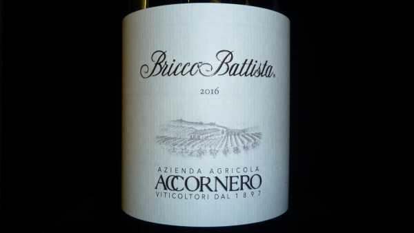 Accornero Bricco Battista Barbera del Monferrato Superiore DOC 2016