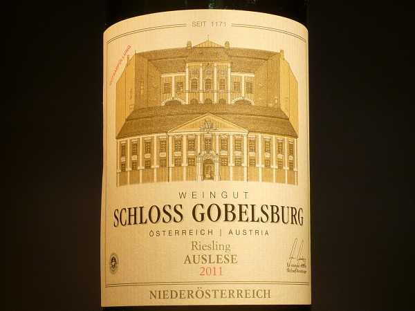 Schloss Gobelsburg Riesling Auslese Niederösterreich 2017 -Restmenge-