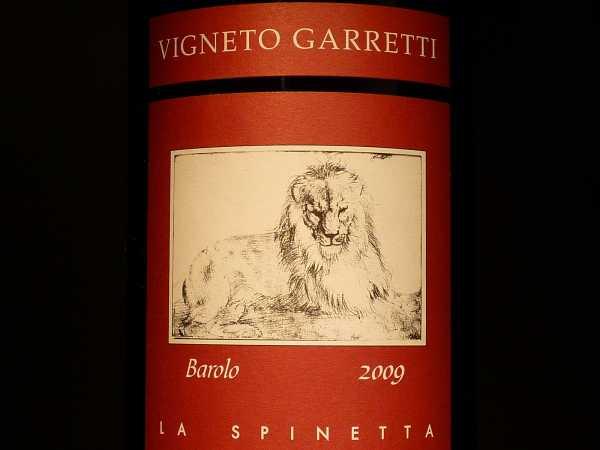 Spinetta Vigneto Garretti Barolo 2013