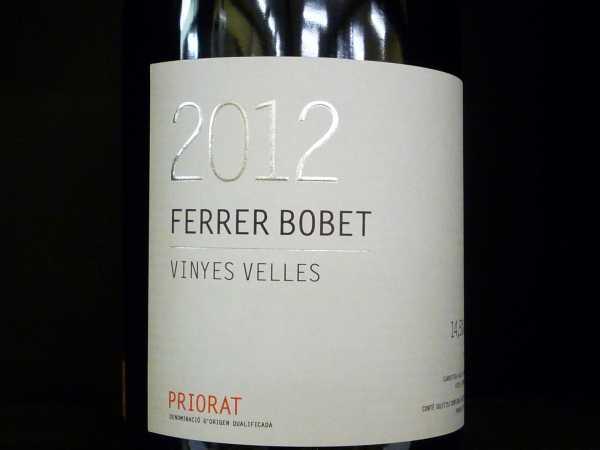 Ferrer Bobet Vinyes Velles 2014