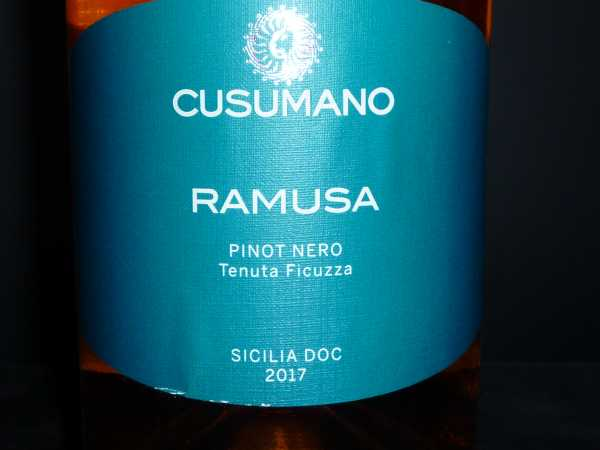 RAMUSA Pinot Nero Rosato Cusumano 2017