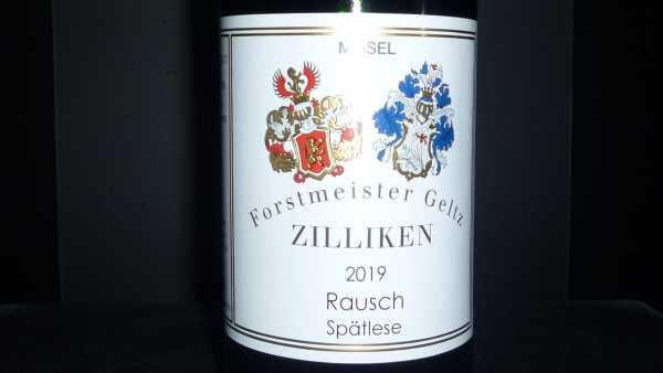 Forstmeister Geltz Zilliken Riesling Rausch Spätlese 2019