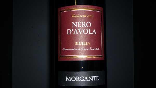 Morgante Nero d`avola Sicilia 2018