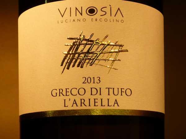 Vinosia Greco di Tufo L´Ariella DOCG 2018