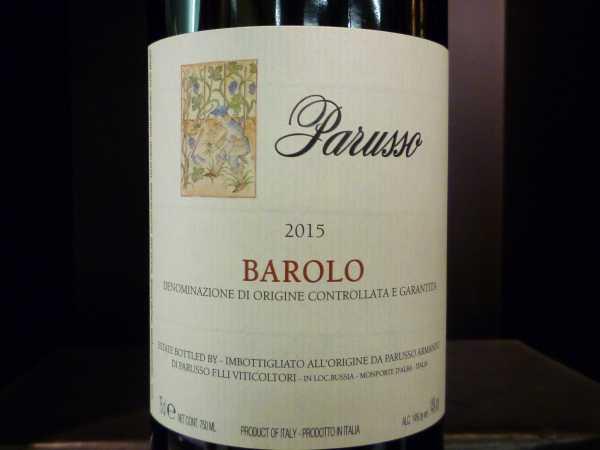 Barolo Parusso 2015