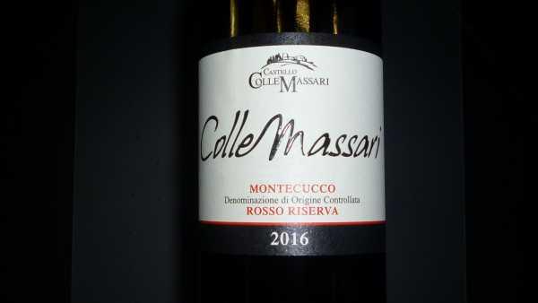 Colle Massari Montecucco Rosso Riserva 2016