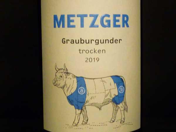 Metzger Grauburgunder trocken 2019