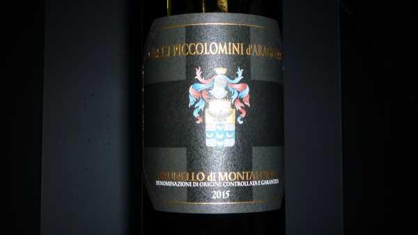 Brunello di Montalcino Ciacci Piccolomini 2015