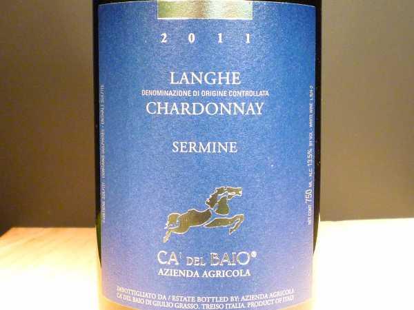 Chardonnay Langhe Sermine Ca'del Baio 2017