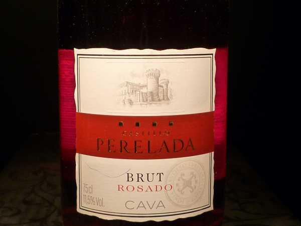 Castillo Perelada Cava Brut rosado