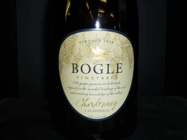Bogle Vineyards Chardonnay California 2018