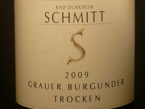 Schmitt Grauer Burgunder trocken 2016