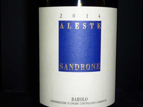 Sandrone Luciano Barolo ALESTE 2014 Magnum