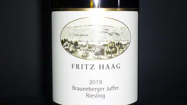 Fritz Haag Riesling Brauneberger Juffer 2019