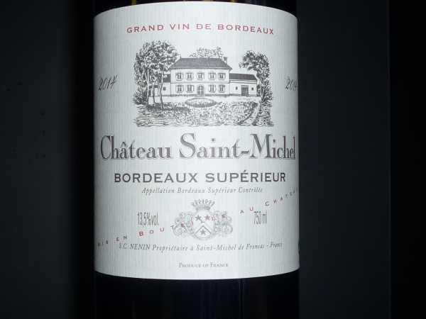 Domaines Delon Chateau Saint Michel 2014
