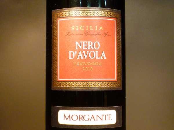 Morgante Nero d`avola Sicilia 2015