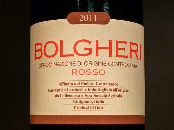 Bolgheri Rosso Grattamacco DOC 2016 Magnum