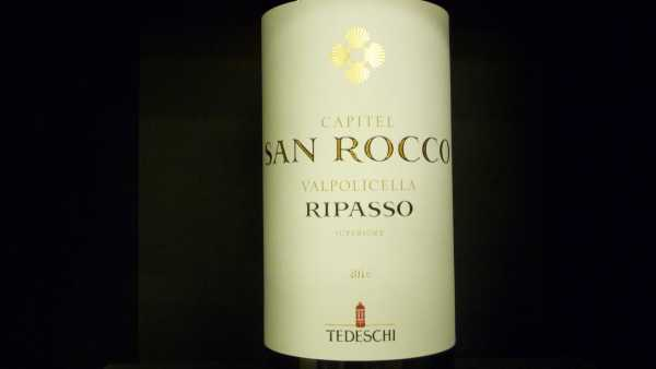 Fratelli Tedeschi Capitel San Rocco Ripasso Superiore 2016